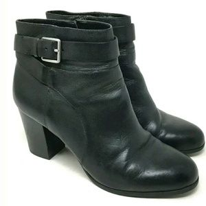 Cole Haan Black Rhinecliff Ankle Boots 9B